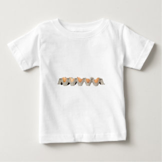 壊れた卵 ベビーTシャツ