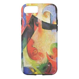壊れた型枠フランツ・マルク著別名Zerbrochene Formen iPhone 8/7ケース