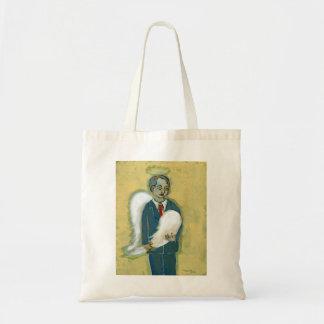 壊れた天使の人の謙遜の人間性のユニークな芸術 トートバッグ
