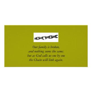 壊れた家族カード カード