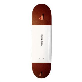 壊れた歯 21.6CM スケートボードデッキ