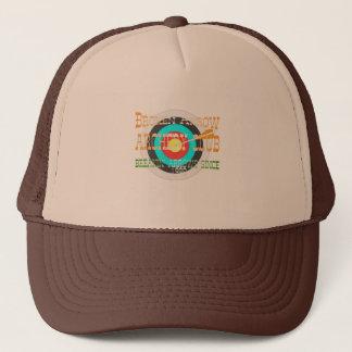 壊れた矢のアーチェリーのトラック運転手の帽子 キャップ