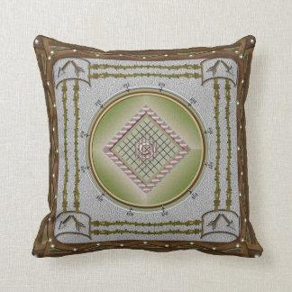 壊れた矢の綿の装飾用クッション16x16 クッション