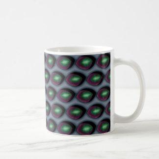 壊れた緑の瞳 コーヒーマグカップ
