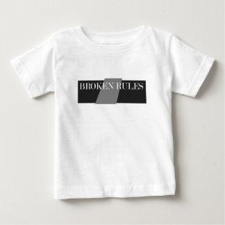 壊れた規則 ベビーTシャツ