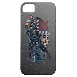 壊れた電子工学 iPhone SE/5/5s ケース
