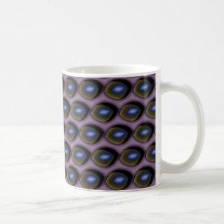 壊れた青い目 コーヒーマグカップ