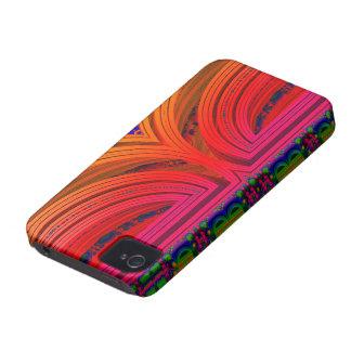 壊れた90年代しなやかで優雅なMANDELBULBのフラクタル3D。 IMG Case-Mate iPhone 4 ケース