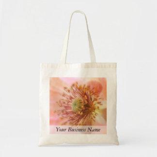 壊れやすい開花-春のケシ トートバッグ