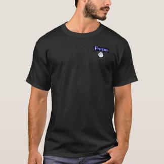 壊れるひびはTシャツを囲みます Tシャツ