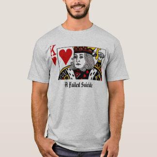 壊れる自殺の自殺王 Tシャツ