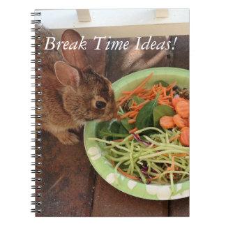 壊れ目の時間アイディアのノート ノートブック