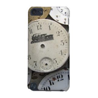 壊中時計の顔-蒸気の列車 iPod TOUCH 5G ケース