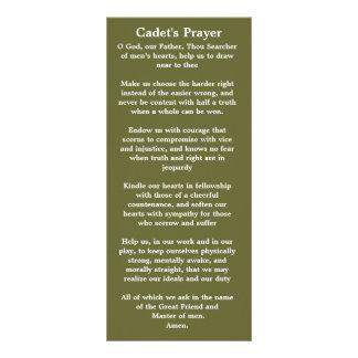 士官候補生の祈りの言葉のしおり ラックカード