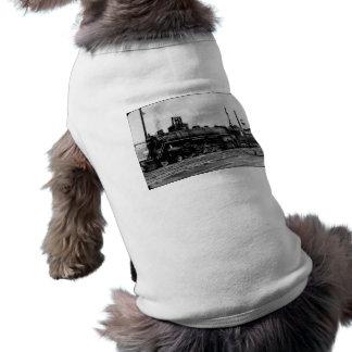 壮大なトランクの西部の(G.T.W.)蒸気機関#6323 犬用袖なしタンクトップ