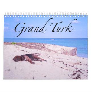 壮大なトルコ人 カレンダー