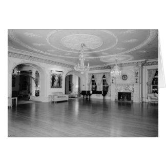 壮大なパーラー、Ponce deレオンのホテル、セントオーガスティン カード