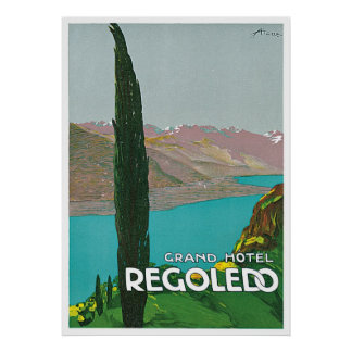 壮大なホテルRegoledo ポスター