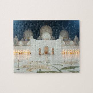 壮大なモスク、アブダビ、アラブ首長国連邦、アラブ首長国連邦 ジグソーパズル