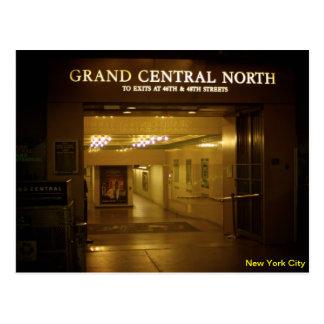 壮大な中央場所、北の出口 ポストカード