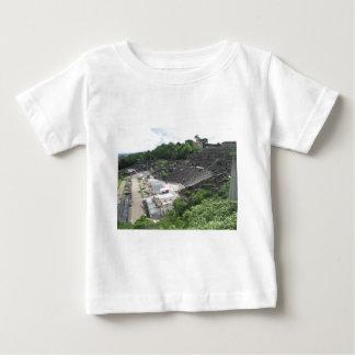 壮大な劇場、ライオンの円形劇場、ローマの|フランス ベビーTシャツ