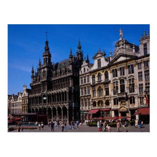 壮大な場所、ブリュッセル、ベルギー ポストカード