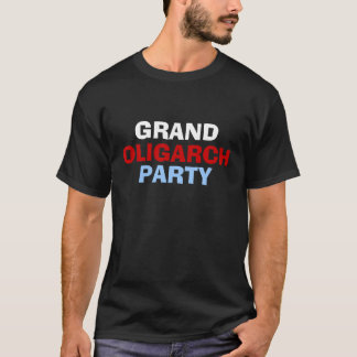 壮大な寡頭政治の独裁者のパーティーのワイシャツ Tシャツ