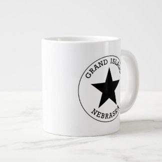壮大な島のネブラスカの大きいコーヒー・マグ ジャンボコーヒーマグカップ