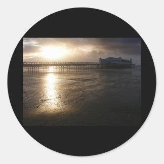 壮大な桟橋のWestonによってすごいロバ ラウンドシール