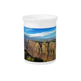 壮大な眺めポイントグランドキャニオンの国立公園 ピッチャー
