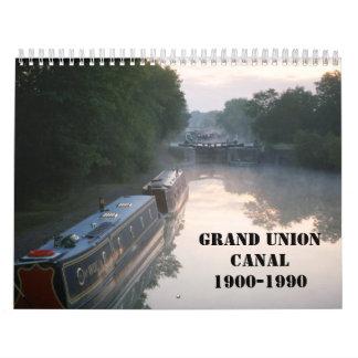 壮大な連合運河2016年 カレンダー