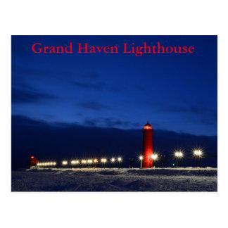 壮大な避難所の灯台郵便はがき ポストカード