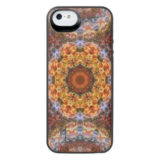壮大な銀河の直線の曼荼羅 iPhone SE/5/5sバッテリーケース