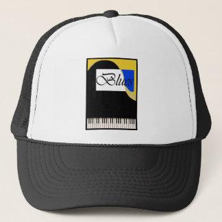壮大な青のピアノ キャップ