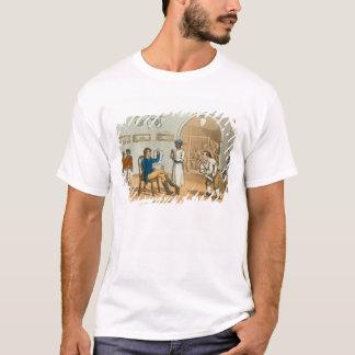 「壮大なMasteからのボンベイの居酒屋のQuiこんにちは、 Tシャツ
