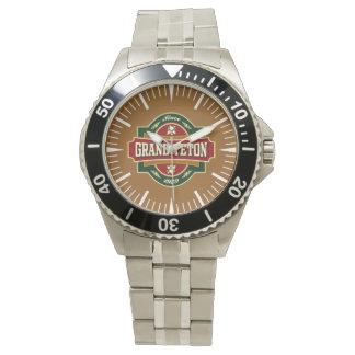壮大なTetonの古いラベルの腕時計 腕時計
