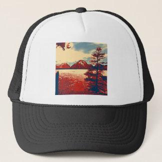 壮大なTetonの国立公園の芸術 キャップ