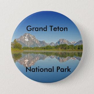 壮大なTetonの国立公園シリーズ10 缶バッジ