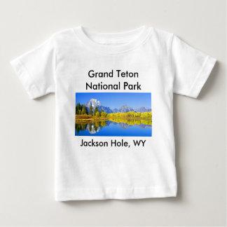 壮大なTetonの国立公園シリーズ1 ベビーTシャツ