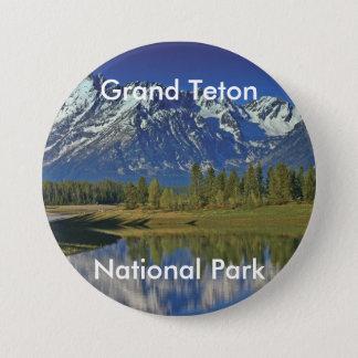 壮大なTetonの国立公園シリーズ4 缶バッジ