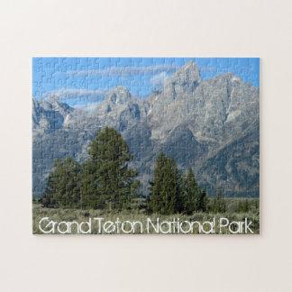 壮大なTeton Nationa公園のパズル ジグソーパズル