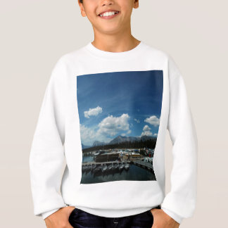 壮大なTetonsおよびカヌー スウェットシャツ