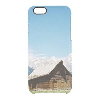 壮大なTetonsのモルモン教徒の納屋 クリアiPhone 6/6Sケース