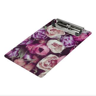 壮麗で色彩の鮮やかな花 ミニクリップボード