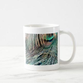 壮麗な孔雀の羽 コーヒーマグカップ