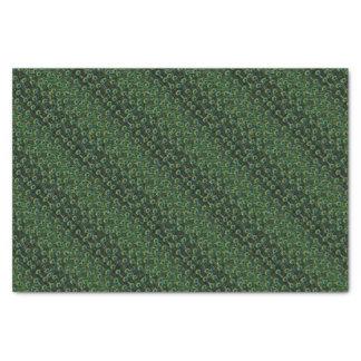 壮麗な孔雀の羽 薄葉紙