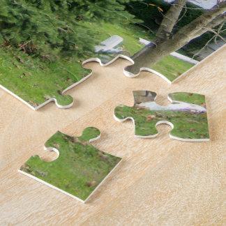 : 壮麗な松の木のパズル ジグソーパズル
