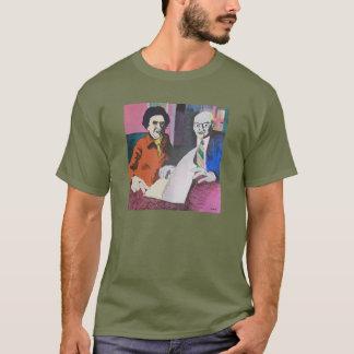 壮麗な発見の暗闇のTシャツ Tシャツ