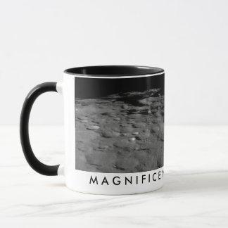 壮麗な荒廃の月のマグ マグカップ