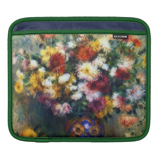 壮麗な菊によってはファインアートが開花します iPadスリーブ